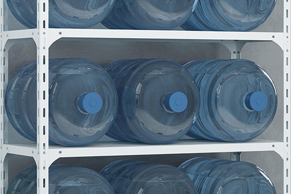 ชั้นวางของเหล็ก ชั้นเหล็กวางของ ชั้นเหล็ก วางถังน้ำ